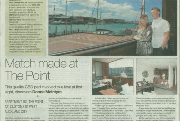 Dec 2011 Herald, Auckland NZ