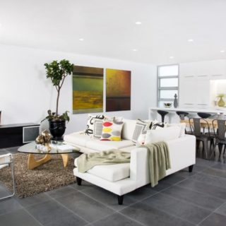 Contemporary Apartment Staging - Living Space