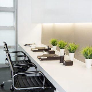 Contemporary Apartment Staging - desk details