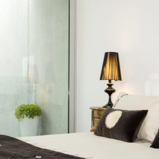 Contemporary Apartment Staging - Bedroom 1
