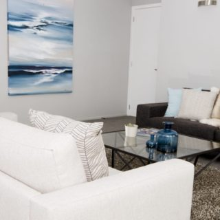 Colours of Nature - home staging - family room art